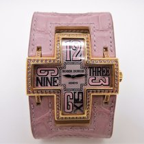 Roger Dubuis FOLLOW ME 18K PINK ROSE GOLD AND PINK SAPPHIRE...