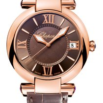 Chopard Imperiale 18K Rose Gold & Amethysts Ladies Watch