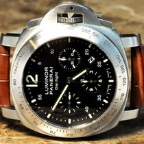 Panerai Luminor Chrono Daylight Box Papers Extra Straps