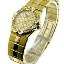 Chopard 25/3928 St. Mortitz in Yellow Gold with Diaond Bezel -...