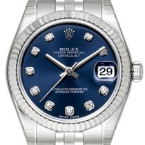 Rolex Oyster Datejust 31 Ref. 178274 Jubile-Band Blau DIA