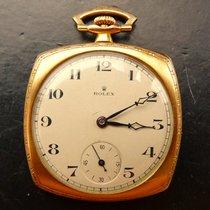 Ρολεξ (Rolex) Art Deco Rosegold 9K 375 Antike Hochfeine...