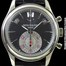 Patek Philippe 5960p Automatic Flyback Chronograph Annual...