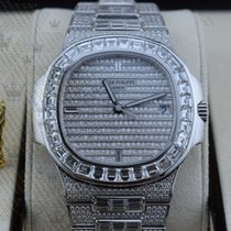 Patek Philippe 5719/10G-010  Nautilus Wg  Full Diamonds ...