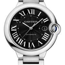 Cartier Ballon Bleu Stainless Steel Black Dial 42mm W6920042