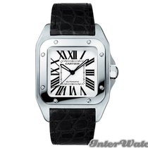 Cartier Santos 100  Automatic W20106X8 Mid-Size WATCH