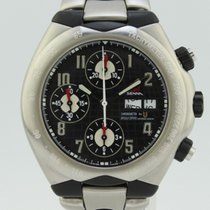 Universal Genève Chronometer Ayton Senna Automatic Steel