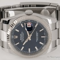 Rolex - Datejust : 116234 blue dial on Heavy Oyster bracelet...