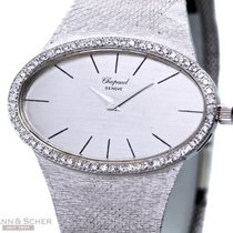 Chopard Vintage Montres Dames Jumbo 18k White Gold Diamond...