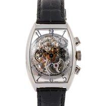 Franck Muller Cronografo In Platino Scheletrato Limited...