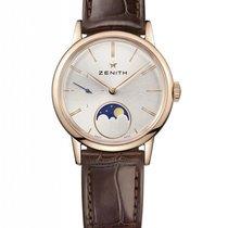 Zenith Elite Lady Moonphase 18K Rose Gold Ladies Watch