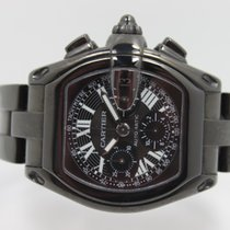 Cartier Roadster Chronograph DLC Coated