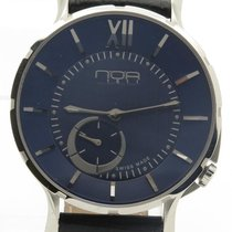 N.O.A Noa Slim Watch 18.60 Mslq-003 Blue Dial 40mm  W/ Box &...
