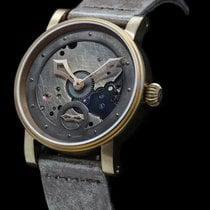 Schaumburg Acciaio 42mm Manuale STEAMPUNK RE-CREATION nuovo