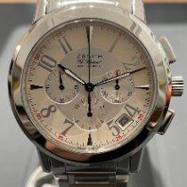 Zenith Port Royal nuevo 2020 Automático Cronógrafo Reloj con estuche y documentos originales 01/02.0450.400