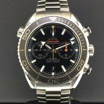 Omega Seamaster Planet Ocean Chronograph Acier 45.5mm Noir Arabes