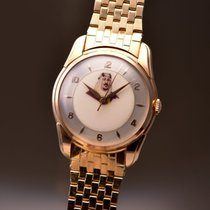 Longines Red gold Manual winding White 34mm pre-owned