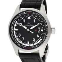 IWC Pilot Worldtimer nuevo Automático Reloj con estuche y documentos originales IW326201