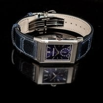 Jaeger-LeCoultre Reverso (submodel) Steel 45.6mm Blue United States of America, California, San Mateo
