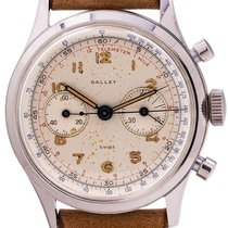 Gallet Steel 37mm Manual winding pre-owned
