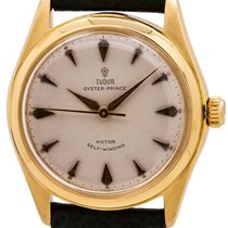 Tudor Oyster Prince Yellow gold 34mm White United States of America, California, West Hollywood