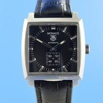 TAG Heuer Monaco Calibre 6 Acier 37mm Noir
