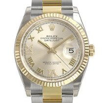 Rolex Datejust 126233 Unworn Gold/Steel 36mm Automatic