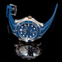 Omega Seamaster Diver 300 M Rose gold 42mm Blue United States of America, California, San Mateo