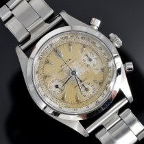 Rolex Chronograph Acél escluso corona 36mm Ezüst Számjegyek nélkül
