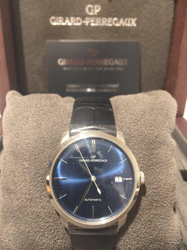 Girard Perregaux 1966 49525-79-431-BK6A 2020 new