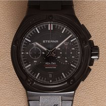 Eterna Steel 42.5mm Automatic 775543401289 new
