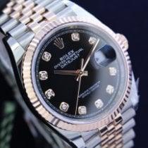 Rolex Datejust Gold/Steel 36mm Black United States of America, New York, NEW YORK