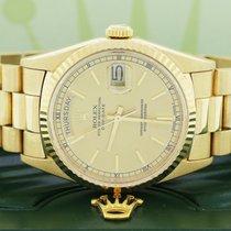 Rolex Day-Date 36 Oro giallo 36mm Champagne