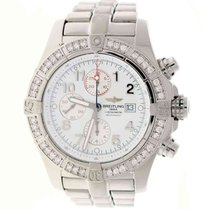 Breitling Super Avenger Steel 48mm White United States of America, New York, New York