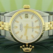 Rolex Lady-Datejust Steel 31mm Champagne United States of America, New York, New York