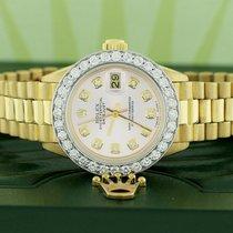 Rolex Lady-Datejust Oro amarillo 26mm Rosa