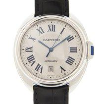 Cartier Clé de Cartier Staal 40mm Zilver