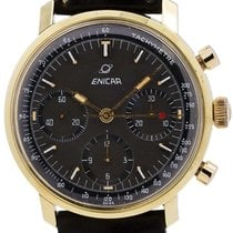 Enicar Gold/Steel 37mm Manual winding 2303 pre-owned United States of America, California, West Hollywood