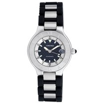 Cartier 21 Must de Cartier Steel 36mm Black No numerals United States of America, Florida, Surfside