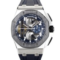 Audemars Piguet Royal Oak Offshore Tourbillon Chronograph Platino 44mm Azul