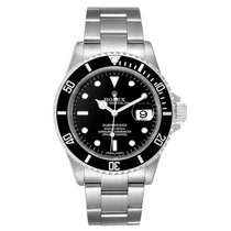 Rolex 16610 Steel 2008 Submariner Date 40mm pre-owned United States of America, New York, NEW YORK