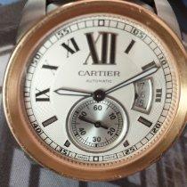 Cartier Calibre de Cartier Stahl 42mm Weiß Römisch Deutschland, Bielefeld