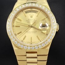 Rolex Day-Date Oysterquartz Yellow gold 36mm Champagne United States of America, Florida, Boca Raton