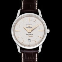 Longines Flagship Heritage Steel 38.5mm Brown United States of America, California, San Mateo