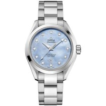 Omega Seamaster Aqua Terra Steel 34mm Mother of pearl No numerals United States of America, New York, New York