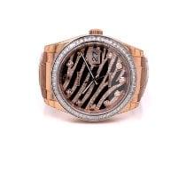 Rolex Datejust Rose gold 36mm Black No numerals United States of America, California, Beverly Hills