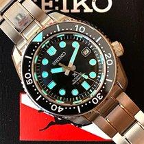 Seiko Marinemaster Steel 44.3mm Black No numerals United States of America, Pennsylvania, Philadelphia