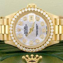 Rolex Lady-Datejust Gulguld 26mm Pärlemor