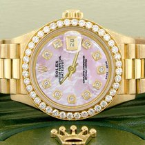 Rolex Lady-Datejust Very good Yellow gold 26mm Automatic