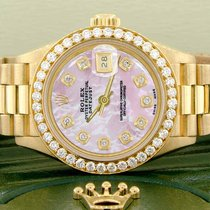 Rolex Lady-Datejust Gelbgold 26mm